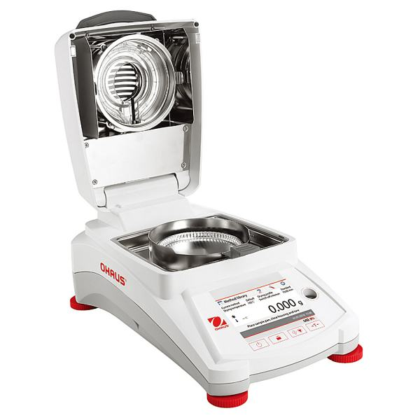 Ohaus MB90 Moisture Analyzer (open) sold by Labtek Services
