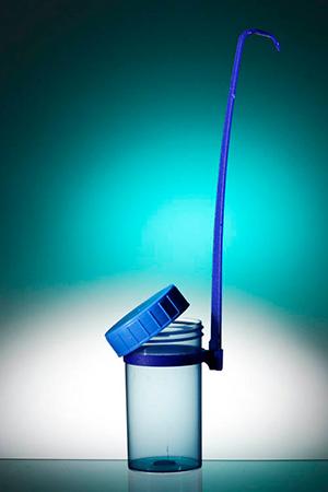 Dipper 180ml Sterile Blue