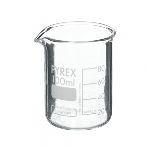 Measuring Beaker 50ml Low Form with Spout