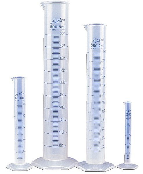 Measuring Cylinder 1000ml Plastic