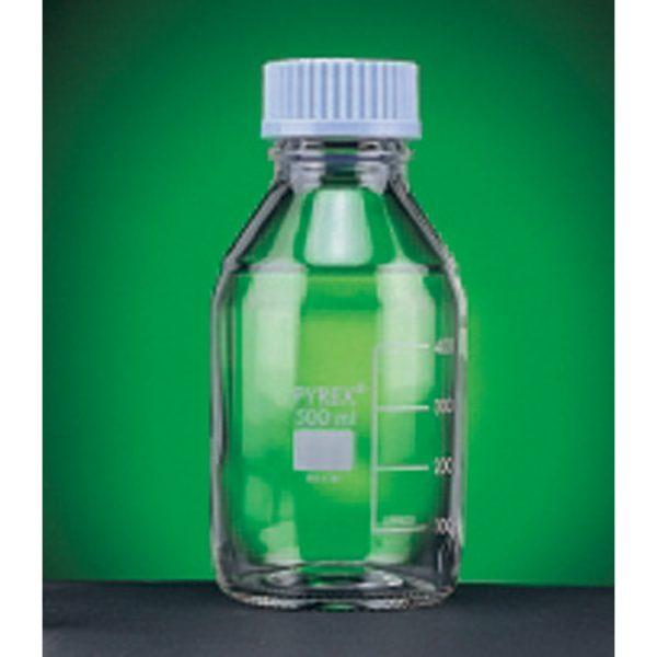 Media Bottle 50ml Pyrex Glass