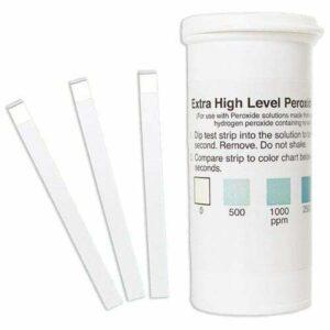 Peroxide Test Strip 0-5000ppm (vial of 50)