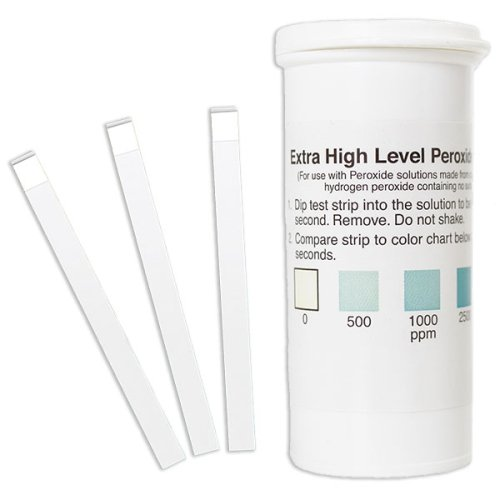Peroxide Test Strip 0-5000ppm (vial of 50)
