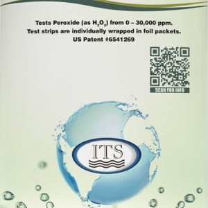 Peroxide Test Strip 0-30000ppm