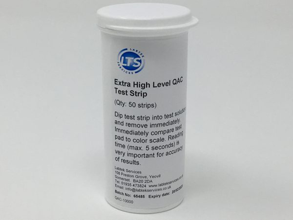 QAC 0-10000 ppm Test Strips (50)