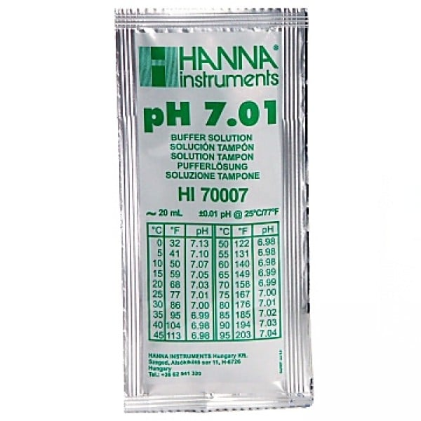 pH7.01 Buffer Sachet 20ml