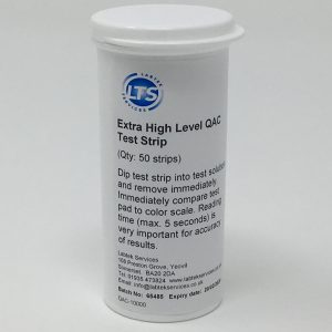 QAC 0-10000 ppm Test Strips (50)