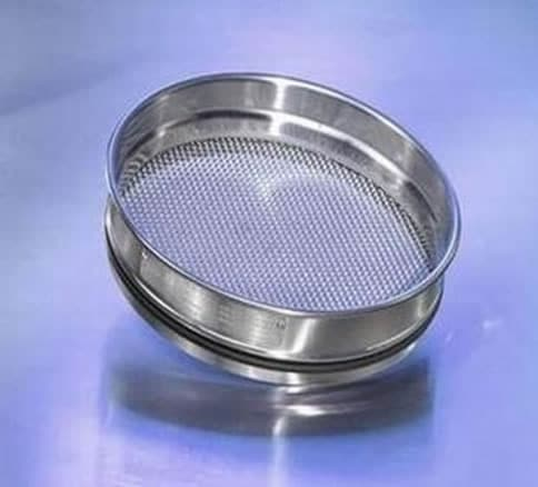 Test Sieve 200MM BS/ISO SS 3.15MM Wire Woven 50mm Deep