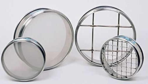 Test Sieve 200MM BS/ISO SS 6.30MM Perforated Plate 50mm Deep