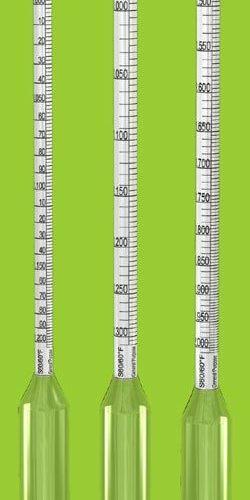 Specific Gravity HydroMeter 1.05-1.1 (Non-certificated)