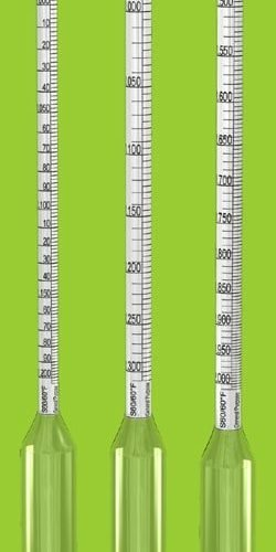Specific Gravity Hydrometer 1.00-1.05