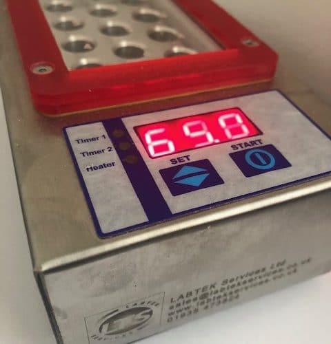 Incubator DriBlock 12place - Eclipse - Delvotest Antibiotic Test