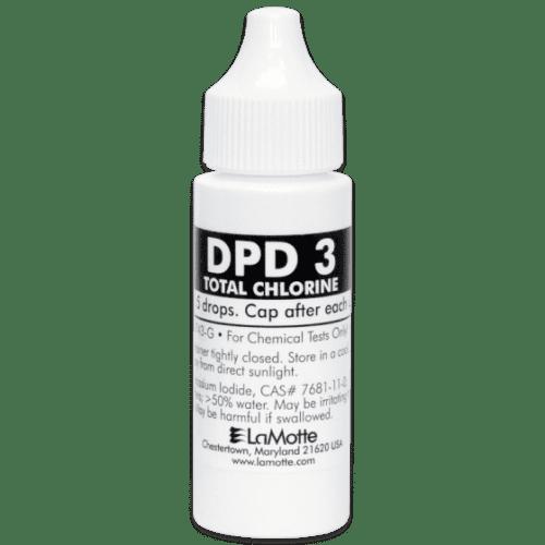 DPD3 Total Chlorine Liquid Solution 30ml